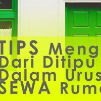 Tips elak ditipu Sewa Rumah Shah Alam 0172219546
