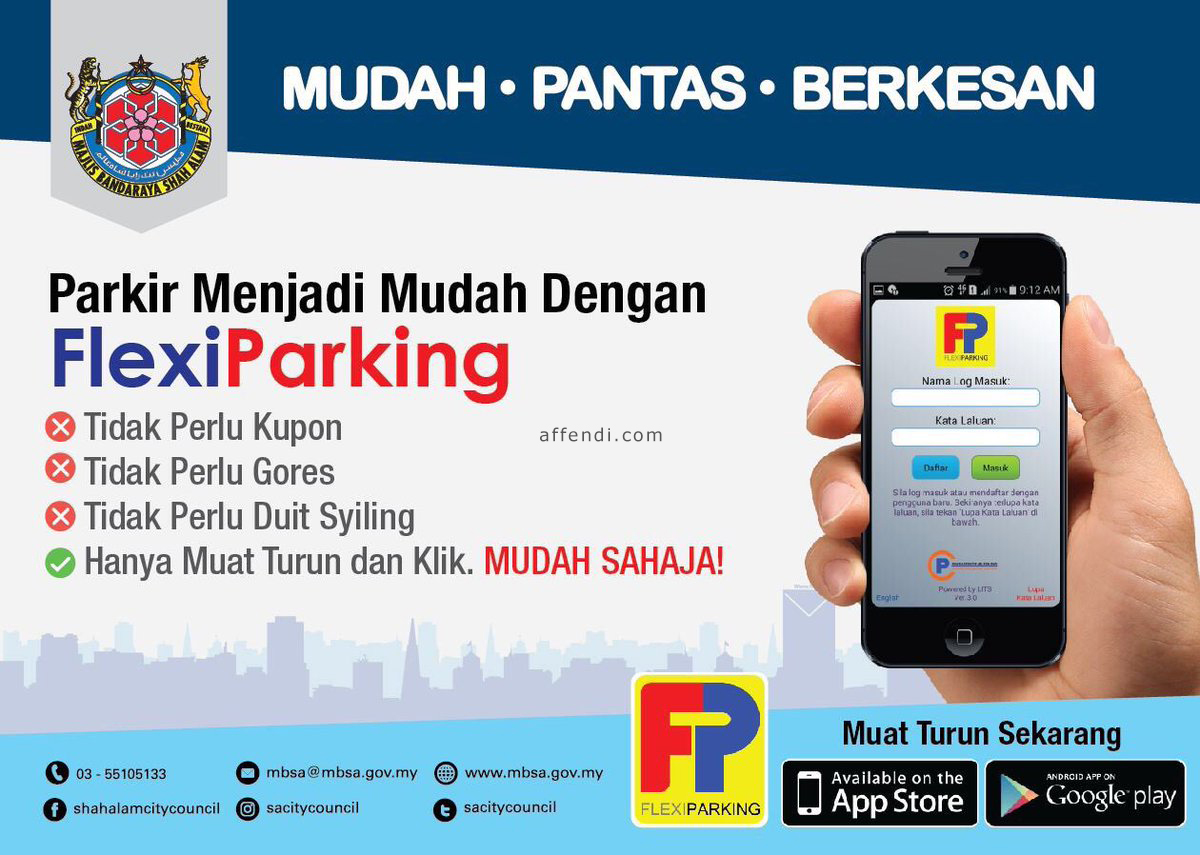 flexi parking mbsa