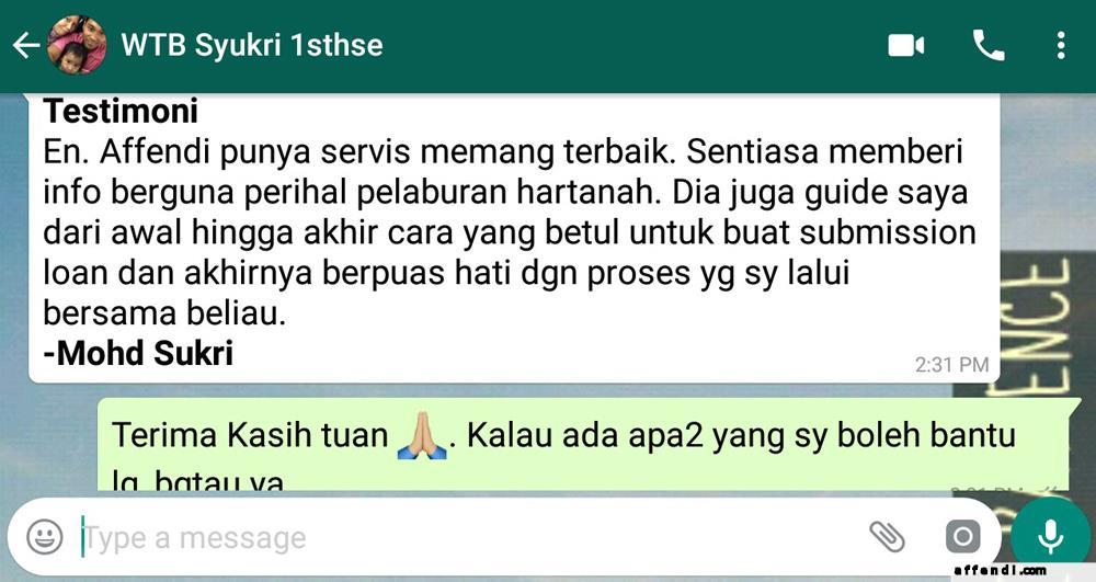 Testimonial Sukri