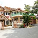Double Storey Taman Melati For Rent